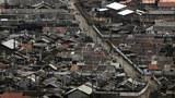 함경북도 무산의 시가지 모습.