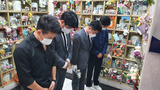 지성호 의원, 무연고 탈북민 사망자 추모관 방문