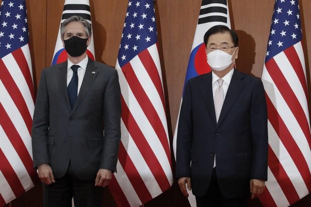 """존 메릴 """"바이든, 북핵에 외교력 집중할 때"""""""
