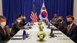 블링컨, 한일 외교장관과 '한반도 완전한 비핵화' 협력 재확인
