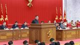 """김정은, 당 전원회의서 """"식량형편 긴장"""""""
