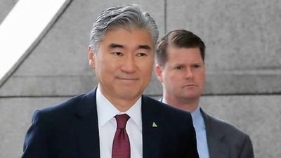 성 김 미국 국무부 대북특별대표.