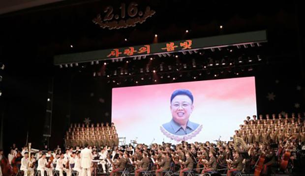 공개할 수 없는 김정일의 결혼사진