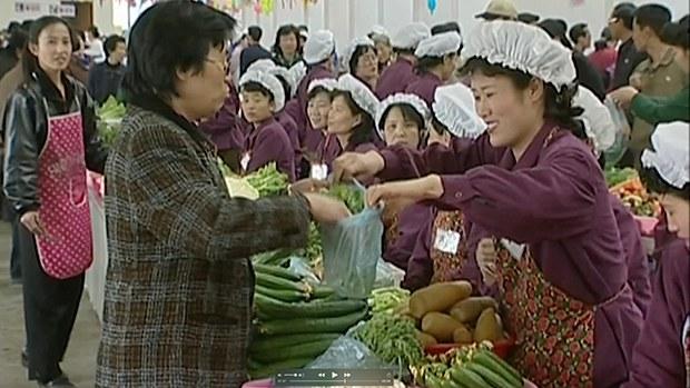 북한 농촌동원기간 종합시장 운영 단축