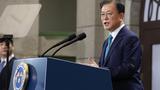 문재인 대통령이 15일 서울 중구 문화역서울284에서 열린 제76주년 광복절 경축식에서 경축사를 하고 있다.