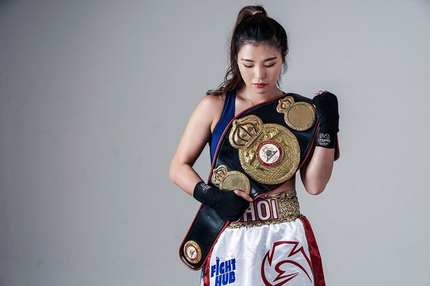 북 출신 여자 무패 챔피언 복서, 9차 방어 성공
