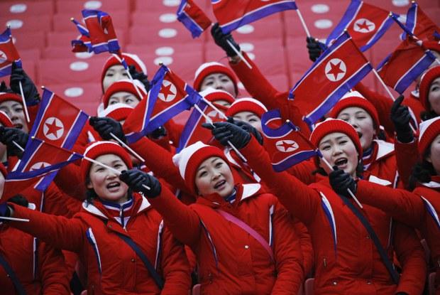 2022 베이징동계올림픽 길 얼어버린 북한