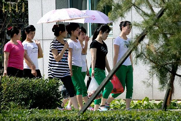북한 여성들 중국, 러시아 등 해외근로 엄청 선호